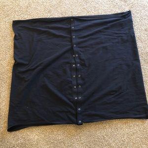 Lululemon black vinyasa scarf